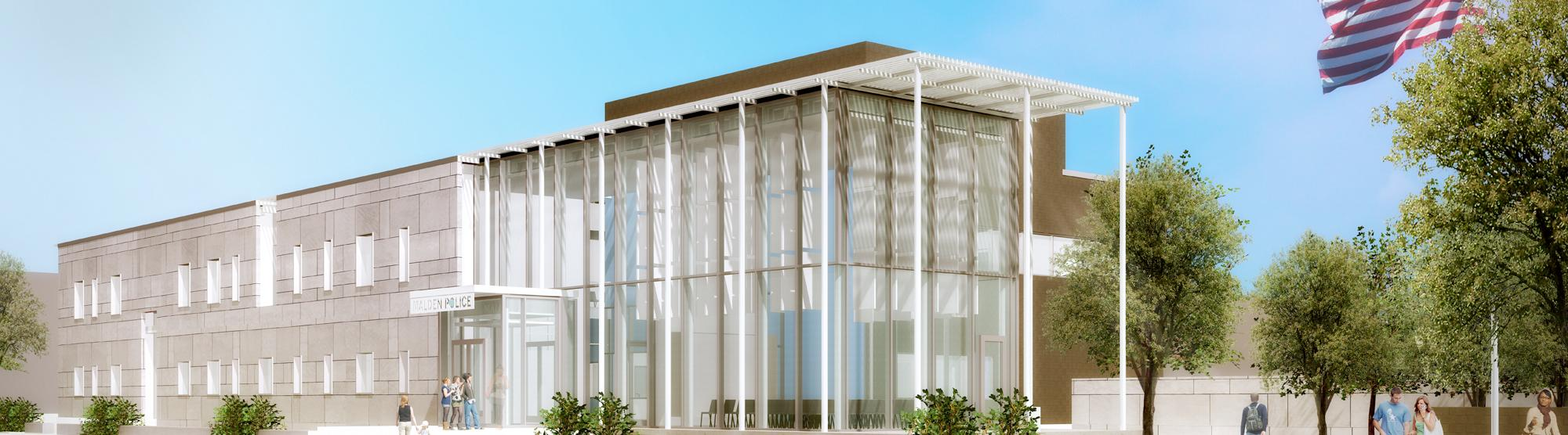 Rendering of New Malden Police Headquarters